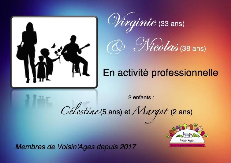 Virginie Nicolas Illustration du foyer par des silhouettes